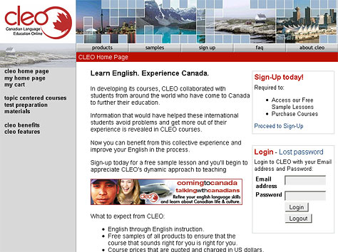 Canadian Language Education Online