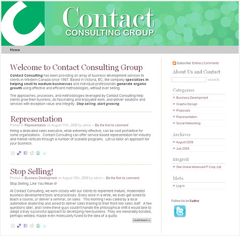 Contact Consulting