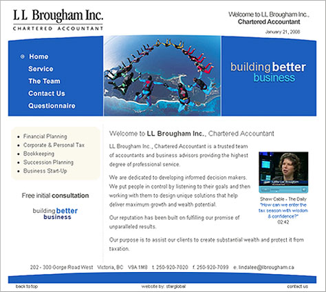 LL Brougham Inc. Chartered Accountant