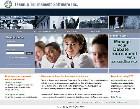 TeamUp Tournament Software Inc.