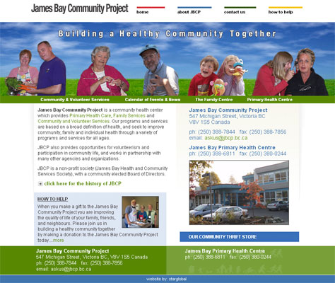 James Bay Community Project